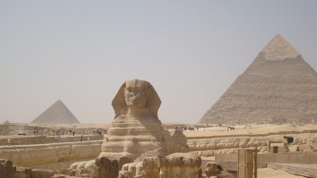 Complexo Esfinge e Pirâmides